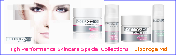 Biodroga MD Collection. BIODROGA MD offers you an innovative, highly scientific skincare range based on medical evidence from the latest research findings, targeting the causes of various skin problems.